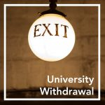 FAQs about University Withdrawal