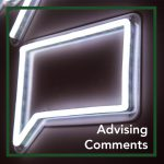 Advising Comments